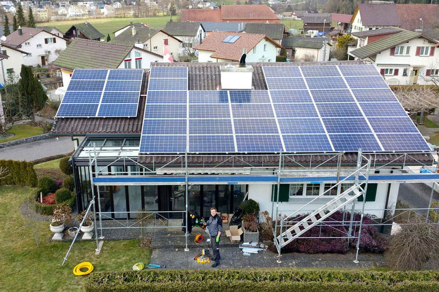 swissvoltaic Kleine Anlagen